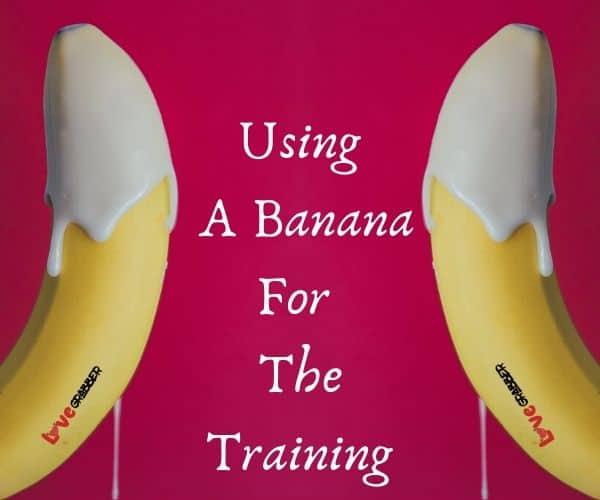 using banana for the training