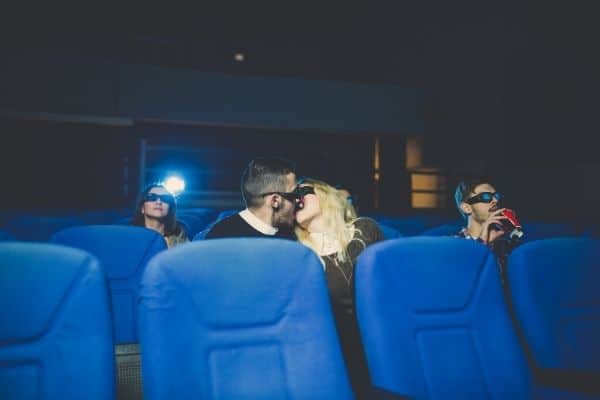 How to give a blowjob in the cinema hall? 2